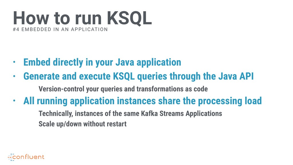 • Embed directly in your Java application • Gen...