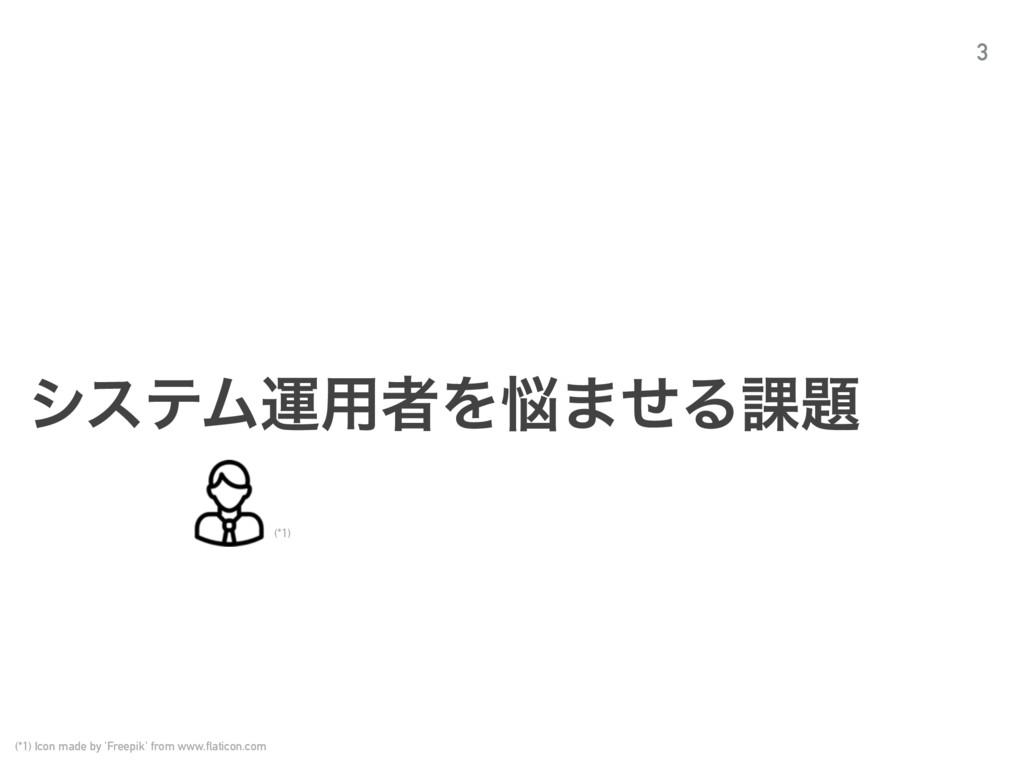 γεςϜӡ༻ऀΛ·ͤΔ՝ 3 (*1) (*1) Icon made by 'Freepi...