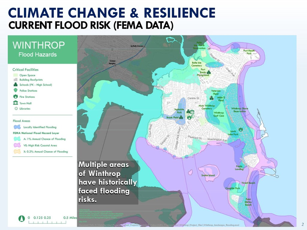 mapc.ma/winthrop2030 2 CLIMATE CHANGE & RESILIE...