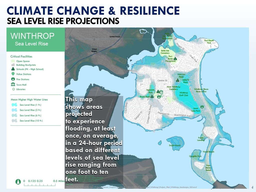 mapc.ma/winthrop2030 4 CLIMATE CHANGE & RESILIE...