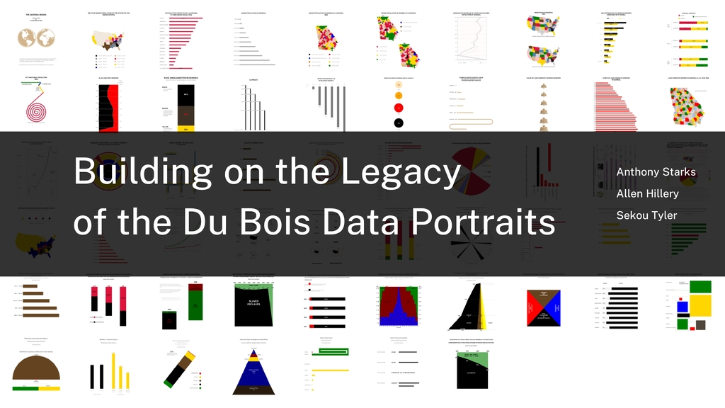 Building on the Legacy of the Du Bois Data Port...