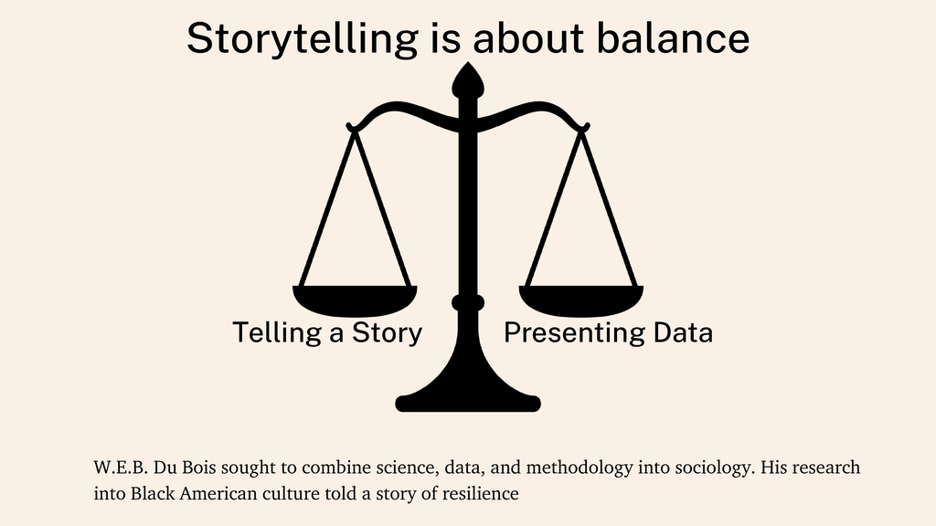 Storytelling is about balance Telling a Story P...