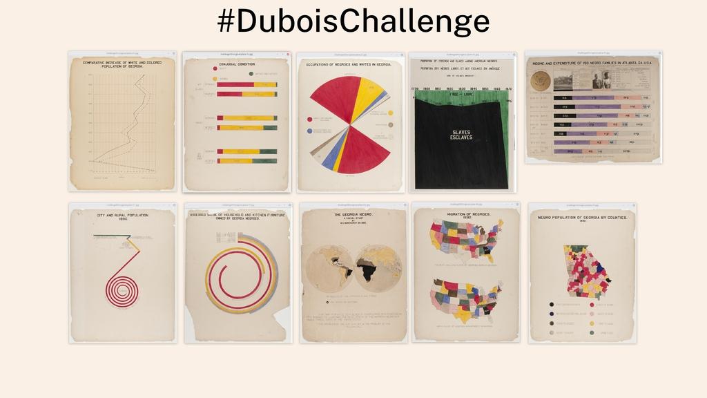 #DuboisChallenge