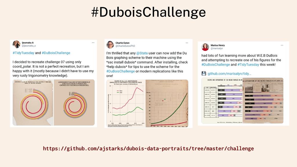 #DuboisChallenge https://github.com/ajstarks/du...