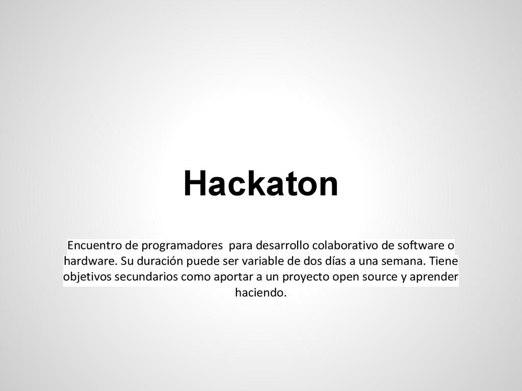 Encuentro de programadores para desarrollo cola...