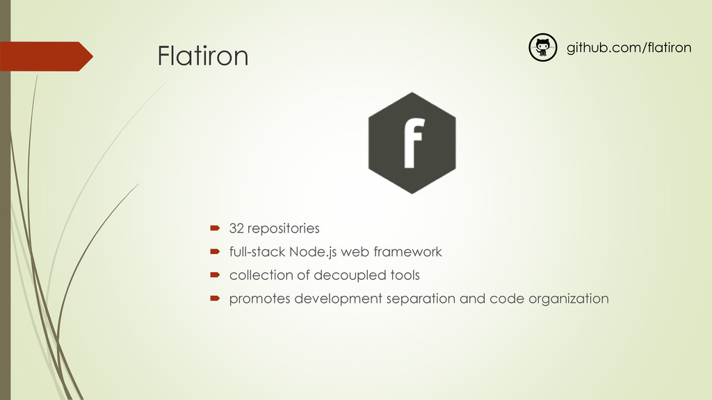 Flatiron  32 repositories  full-stack Node.js...