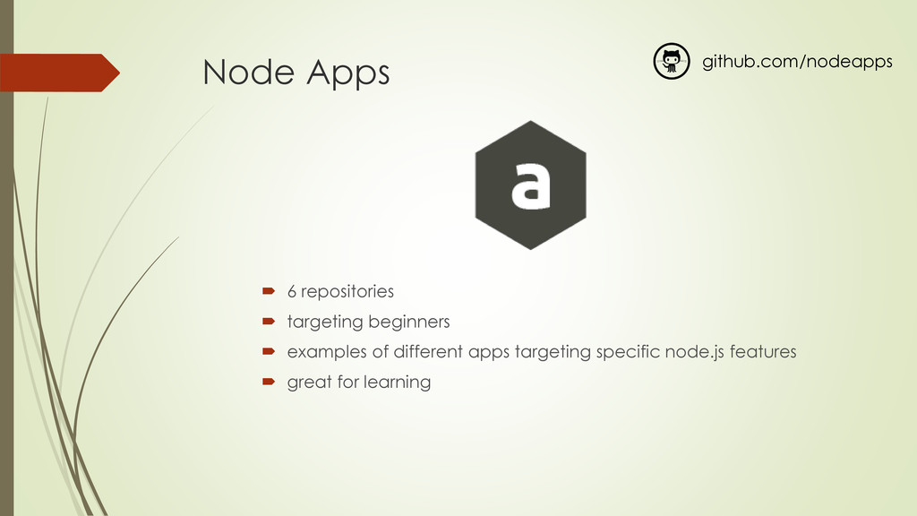 Node Apps  6 repositories  targeting beginner...