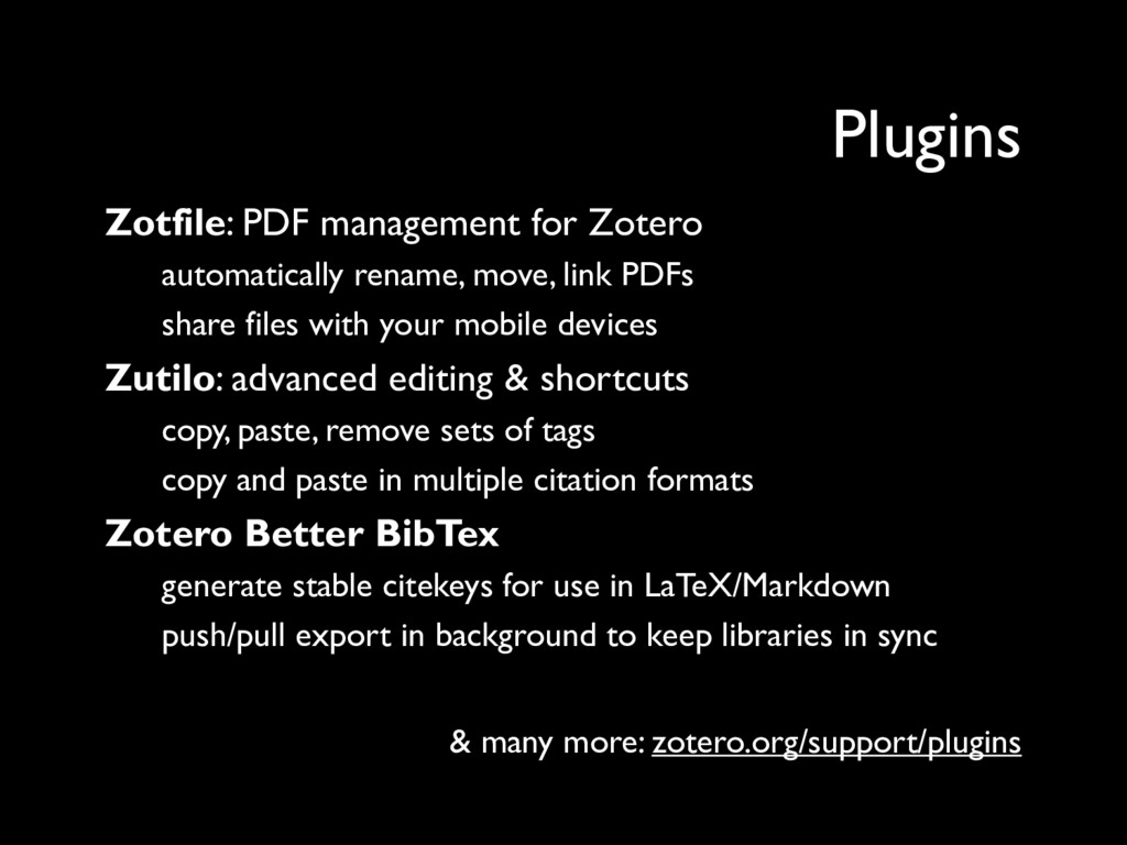 Zotfile: PDF management for Zotero automaticall...