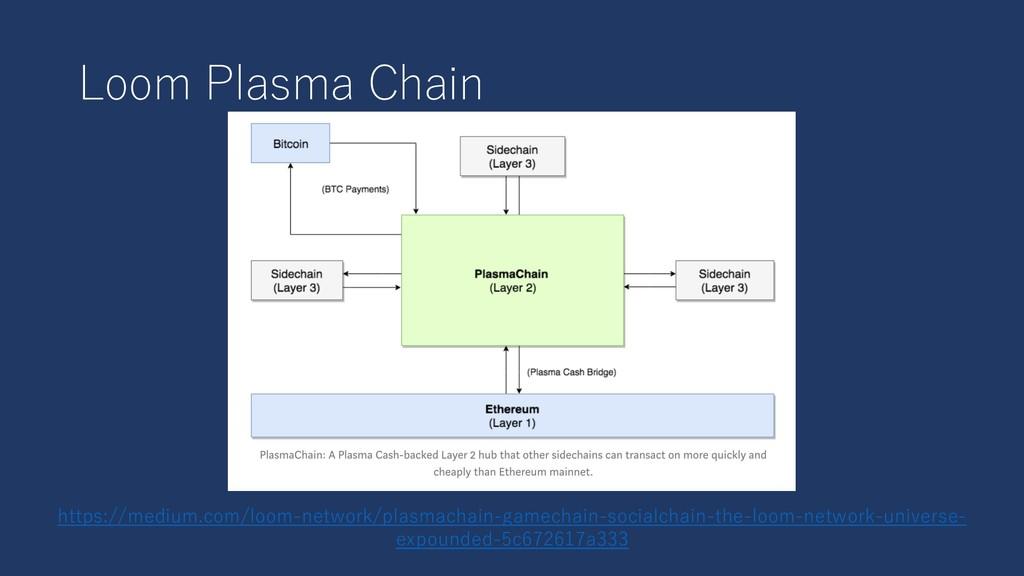 Loom Plasma Chain https://medium.com/loom-netwo...