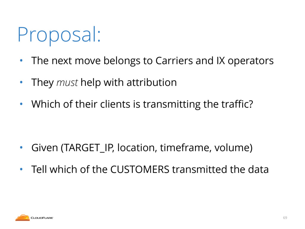 • The next move belongs to Carriers and IX oper...