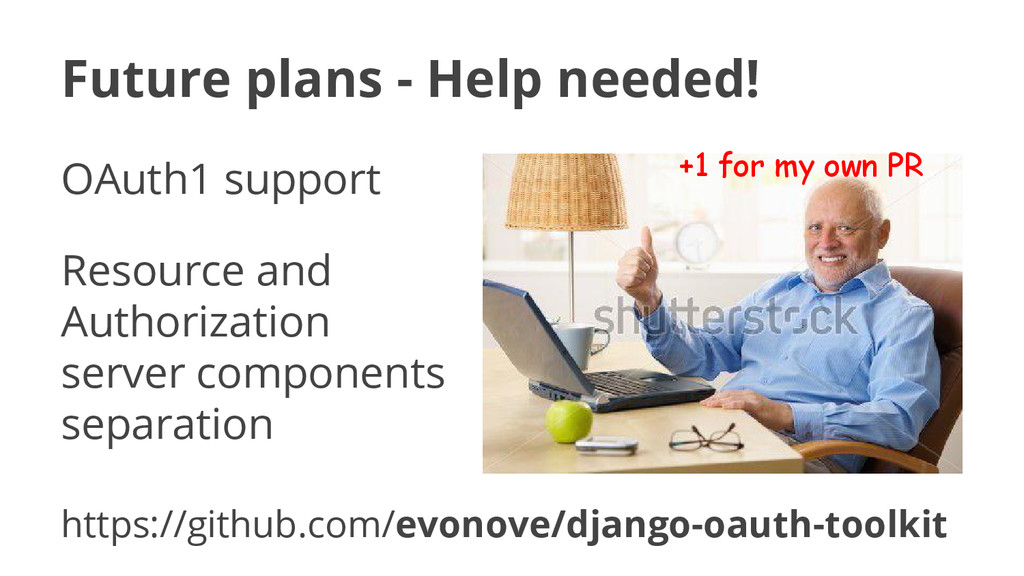 Future plans - Help needed! OAuth1 support Reso...