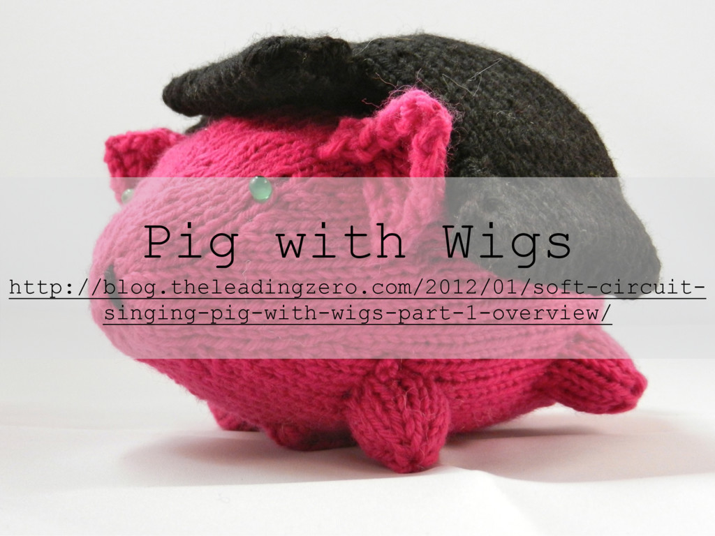 Pig with Wigs http://blog.theleadingzero.com/20...