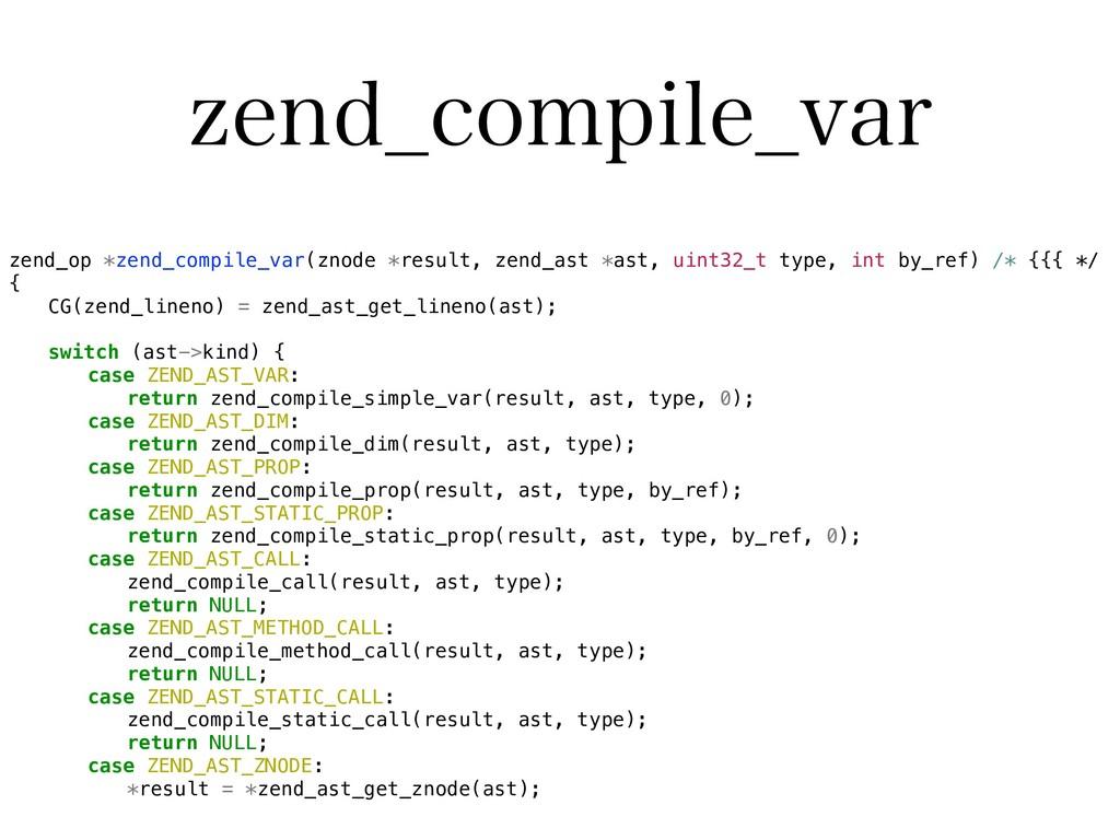 [FOE@DPNQJMF@WBS zend_op *zend_compile_var(znod...