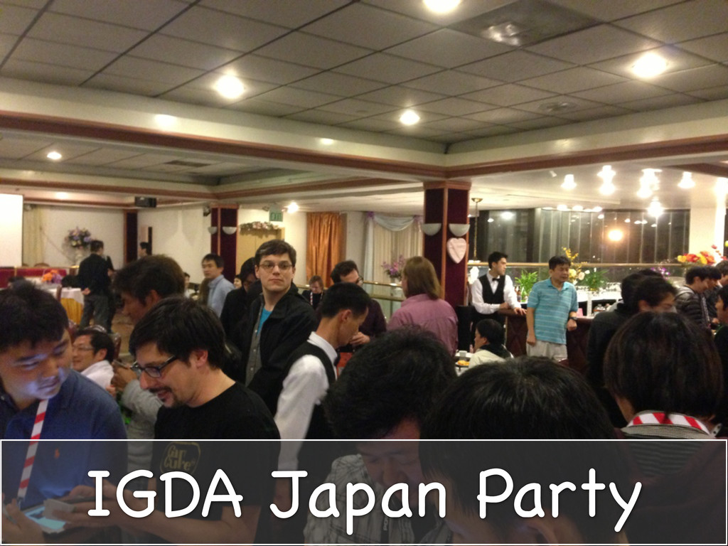 IGDA Japan Party