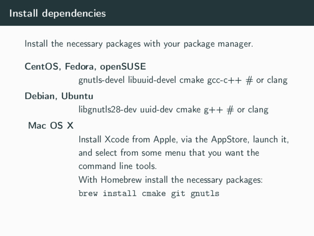 Install dependencies Install the necessary pack...