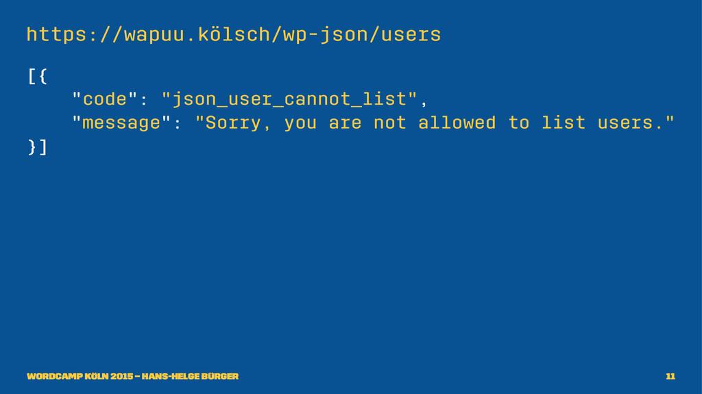 """https://wapuu.kölsch/wp-json/users [{ """"code"""": """"..."""