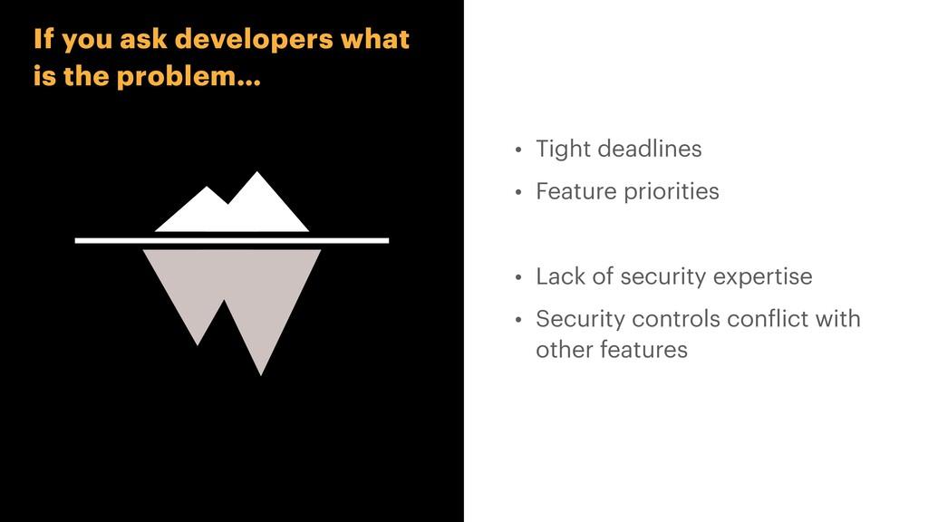 • Tight deadlines   • Feature priorities   • La...