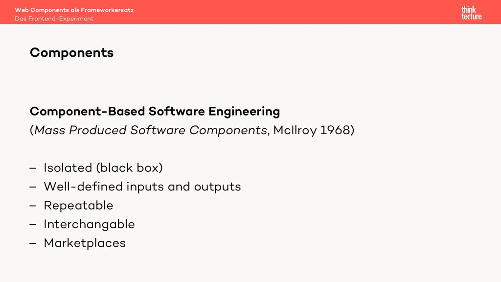 Component-Based Software Engineering (Mass Prod...