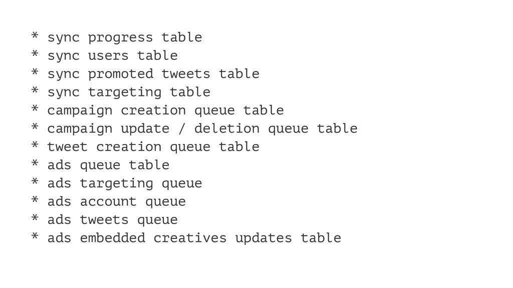* sync progress table * sync users table * sync...