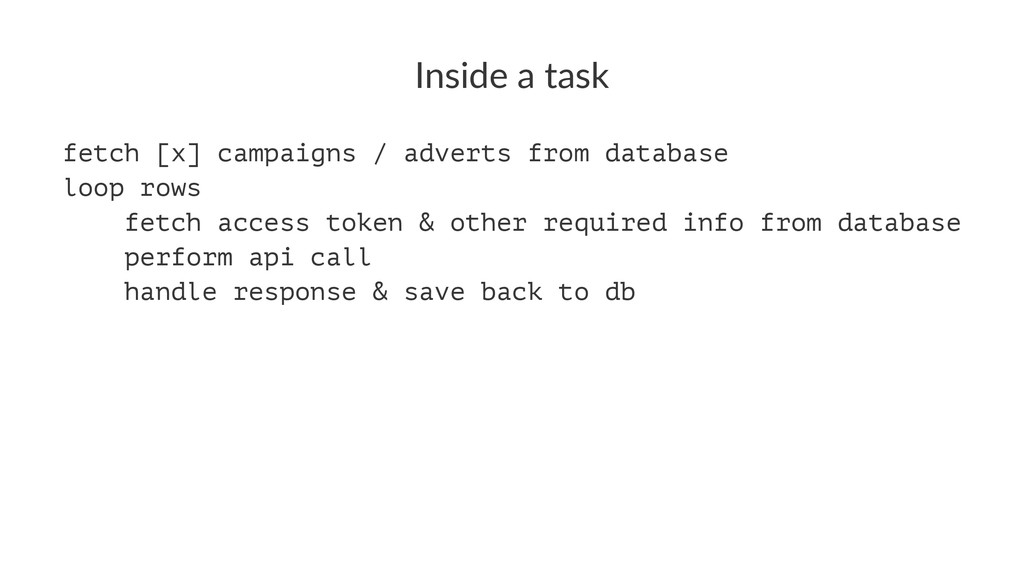 Inside'a'task fetch [x] campaigns / adverts fro...