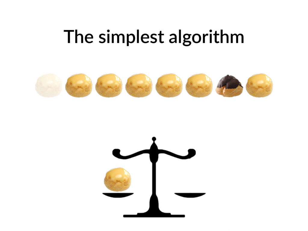 The simplest algorithm