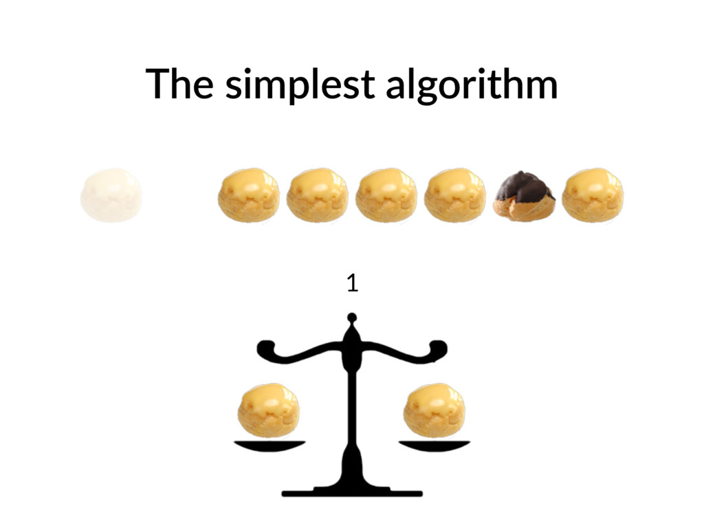 The simplest algorithm 1