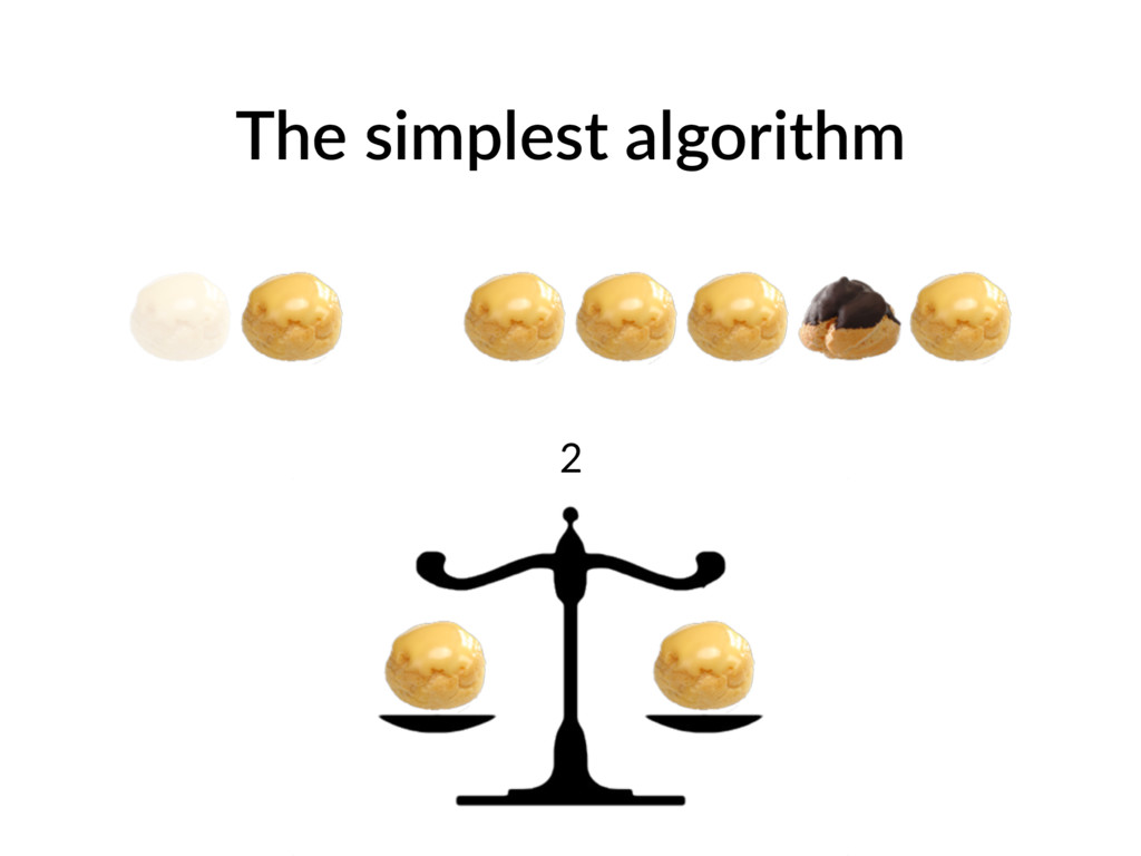 The simplest algorithm 2