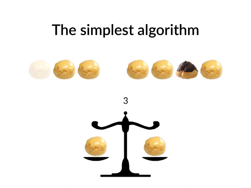 The simplest algorithm 3
