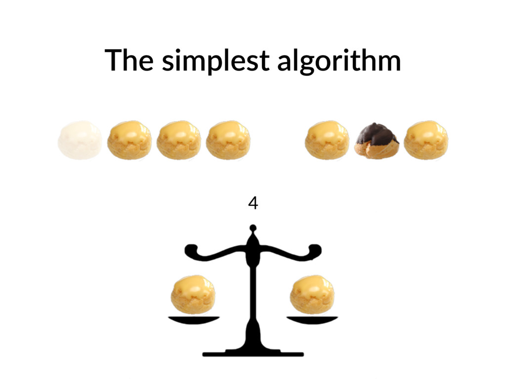 The simplest algorithm 4