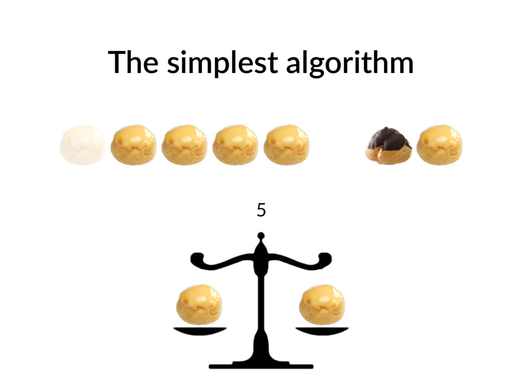 The simplest algorithm 5