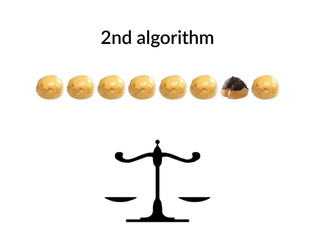2nd algorithm