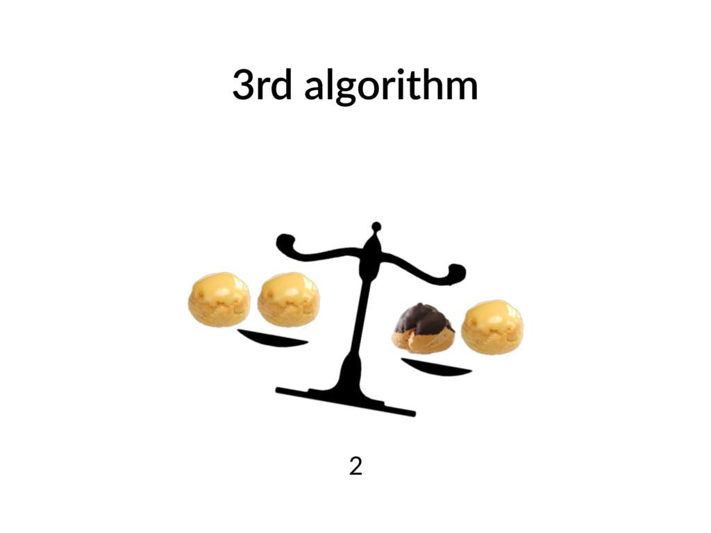 3rd algorithm 2
