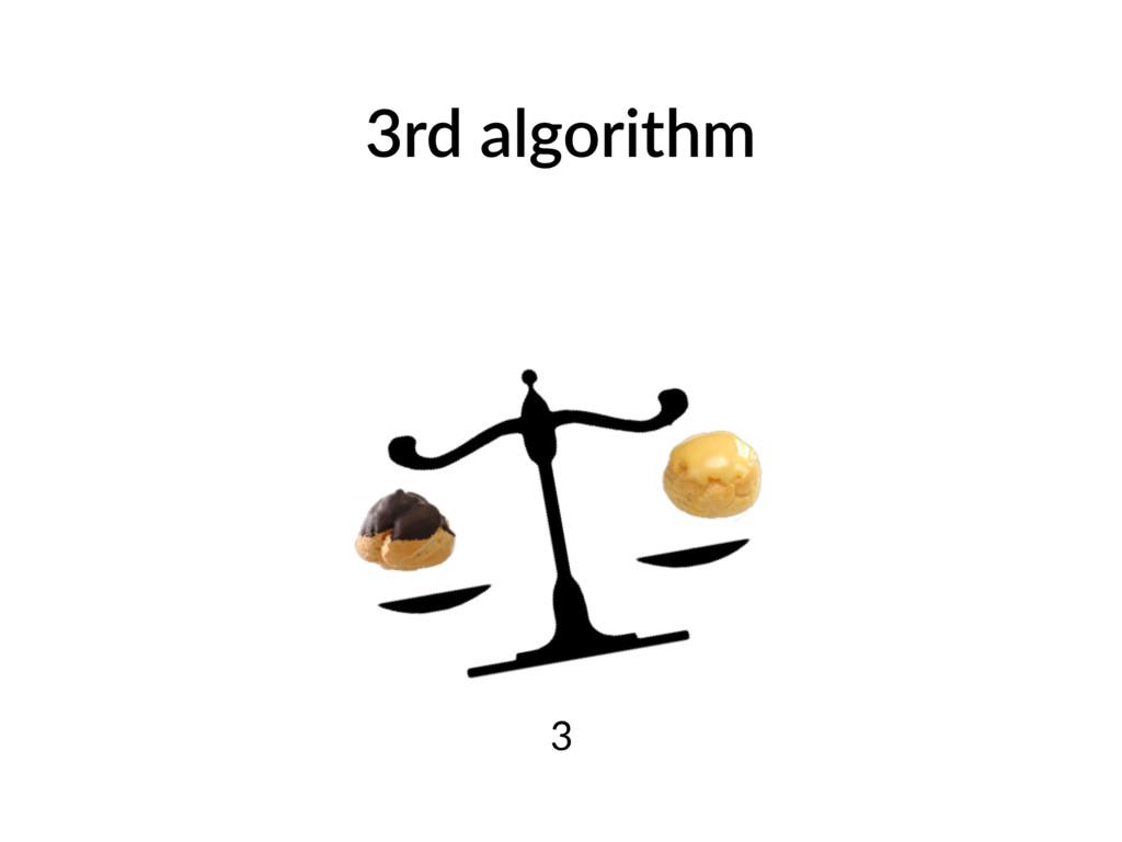 3rd algorithm 3