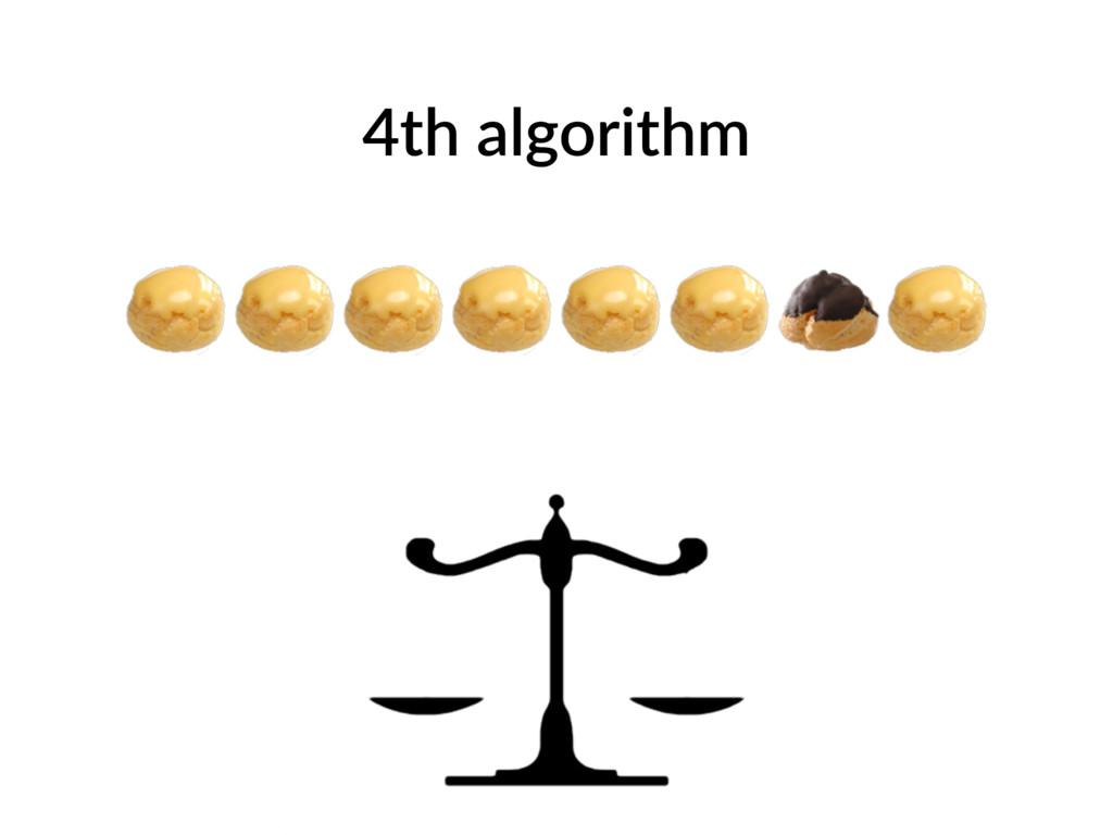 4th algorithm