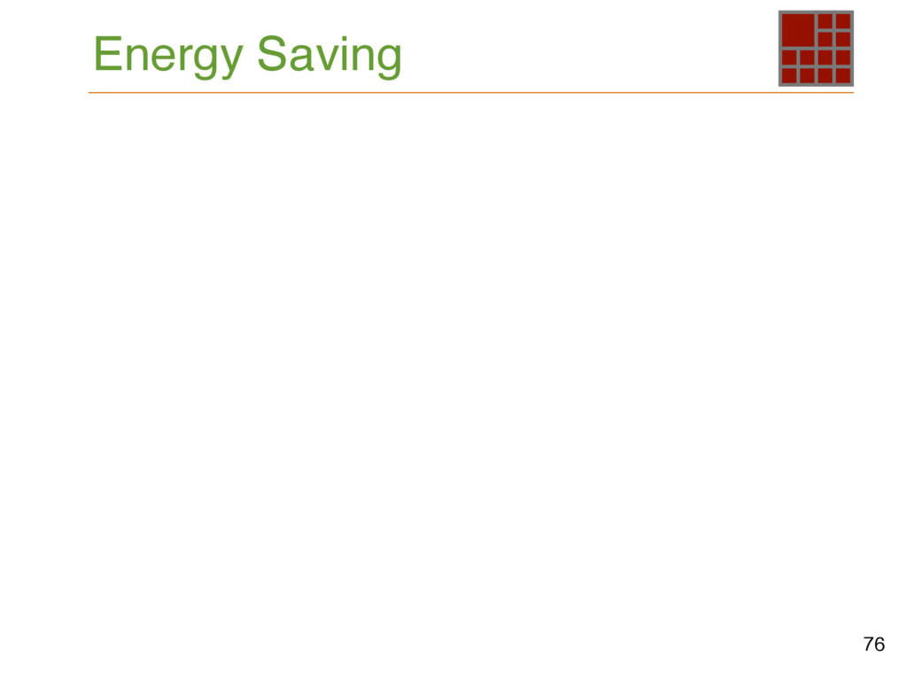76 Energy Saving