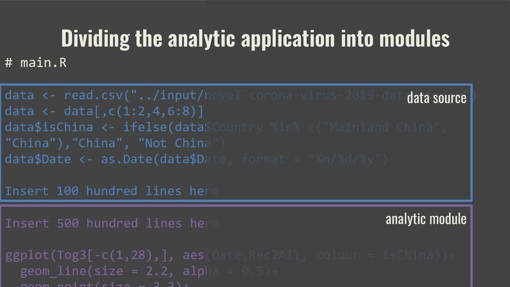 Insert 500 hundred lines here ggplot(Tog3[-c(1,...