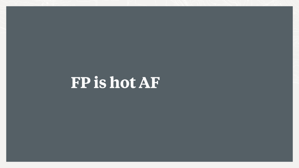 FP is hot AF