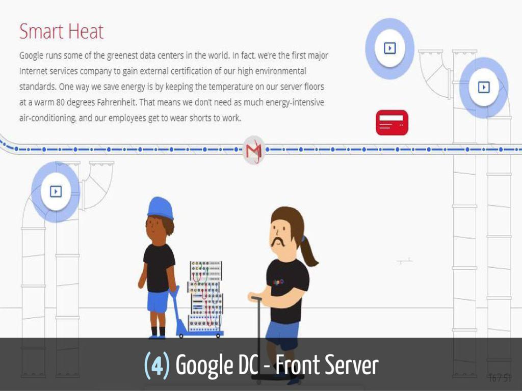 (4) Google DC - Front Server 16 / 51