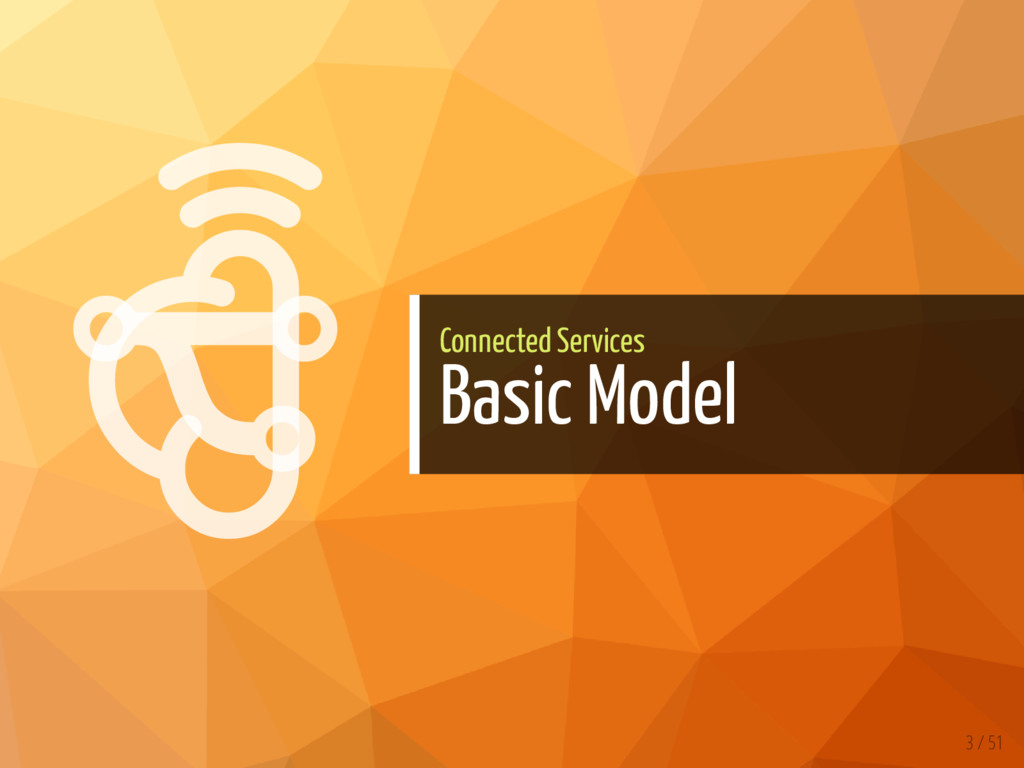   Connected Services Basic Model 3 / 51