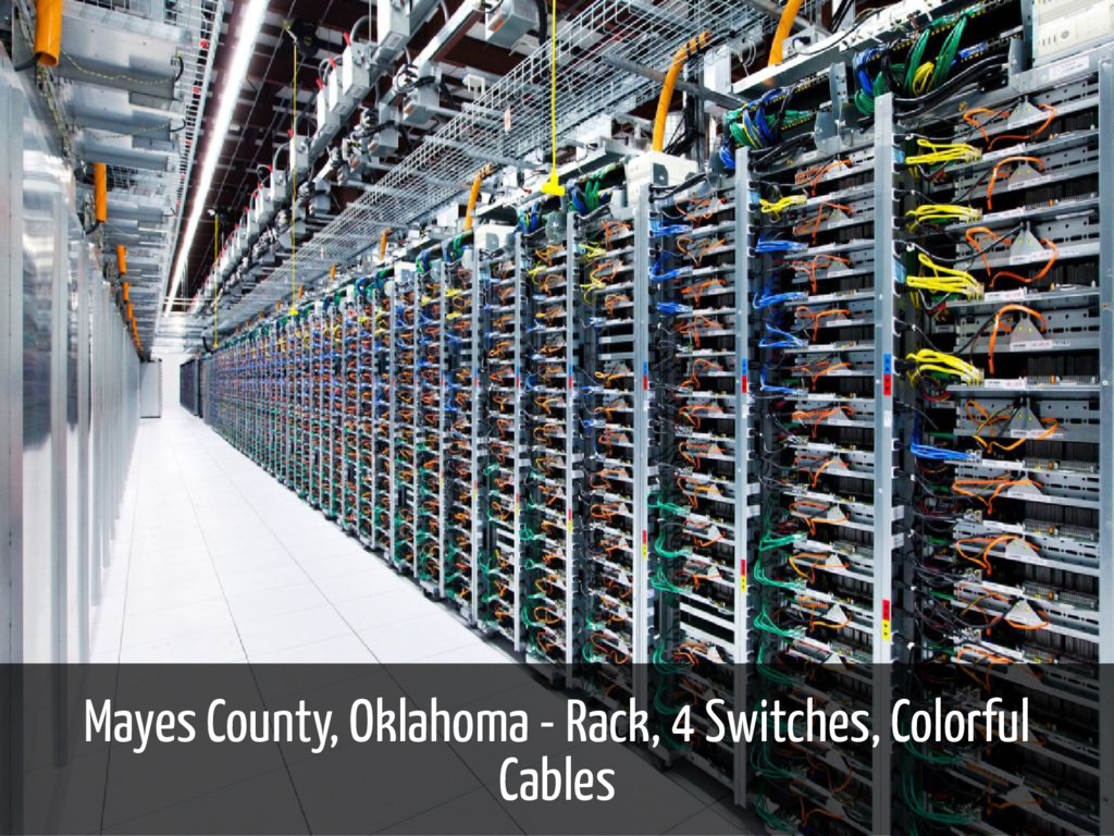 Mayes County, Oklahoma - Rack, 4 Switches, Colo...