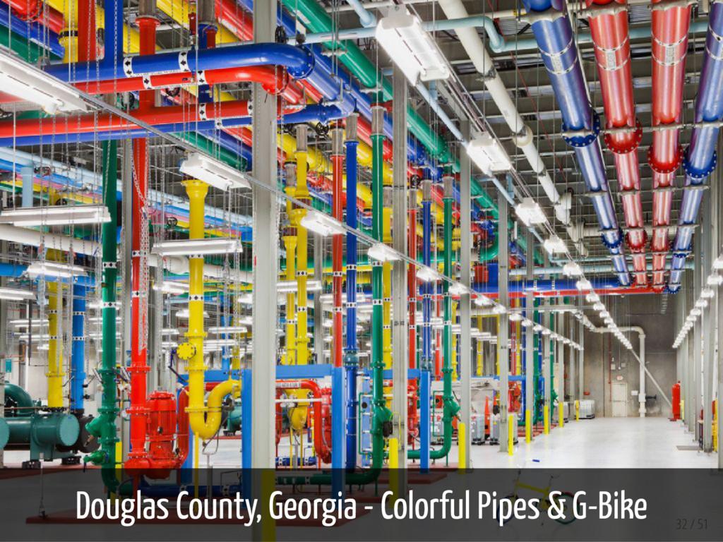 Douglas County, Georgia - Colorful Pipes & G-Bi...