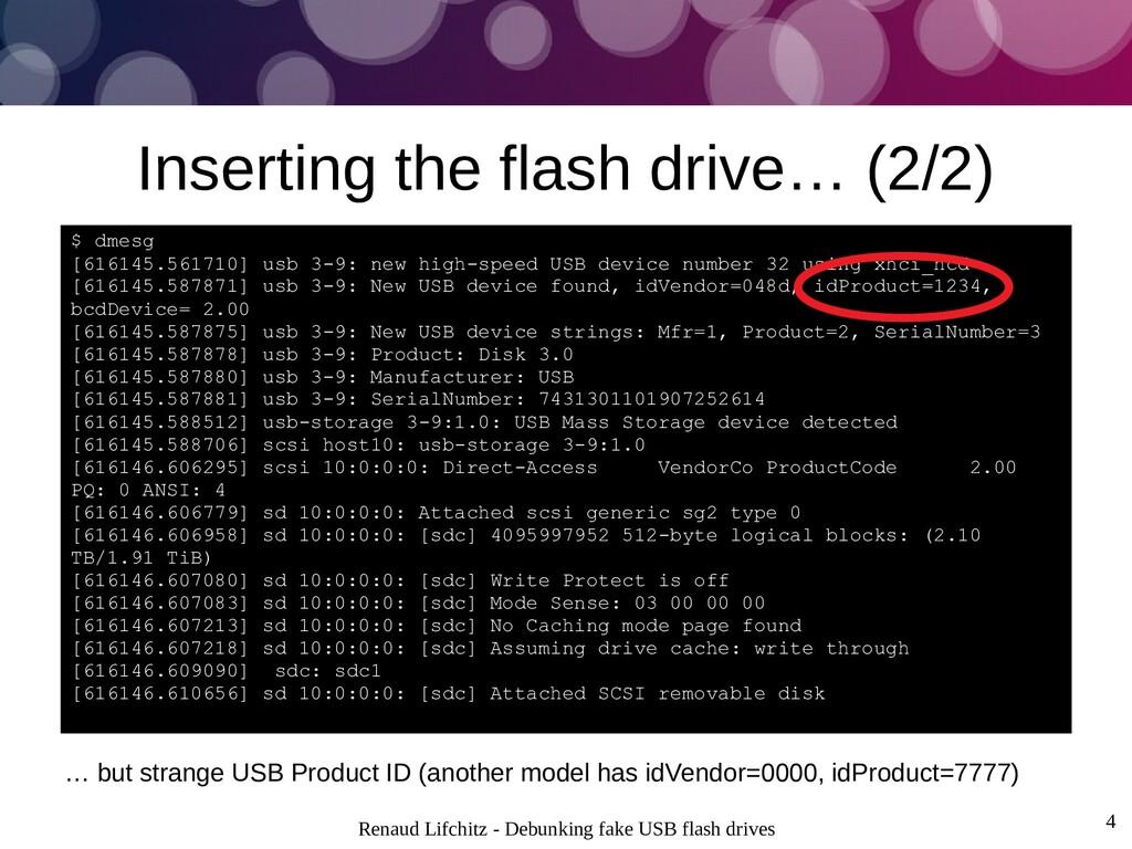 Renaud Lifchitz - Debunking fake USB flash driv...