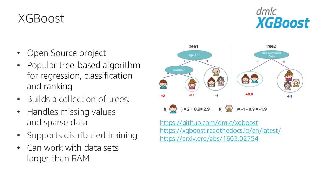 XGBoost • Open Source project • Popular tree-ba...