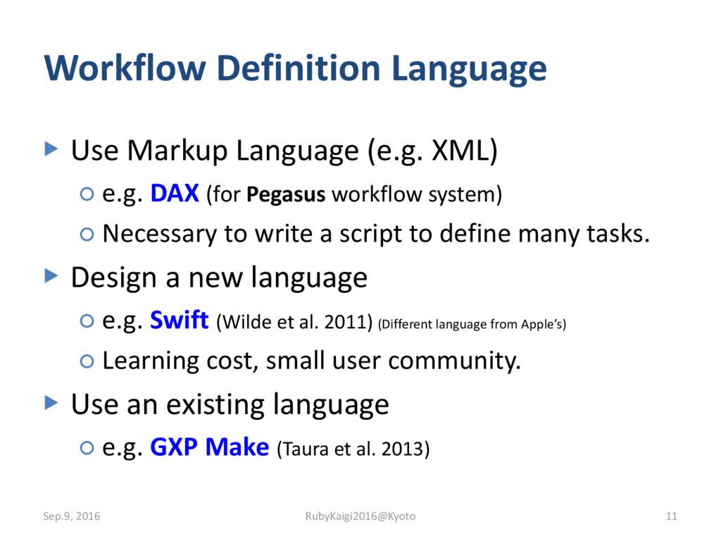 ▶ Use Markup Language (e.g. XML) ○ e.g. DAX (fo...