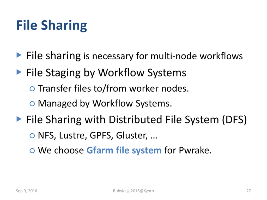 File Sharing ▶ File sharing is necessary for mu...