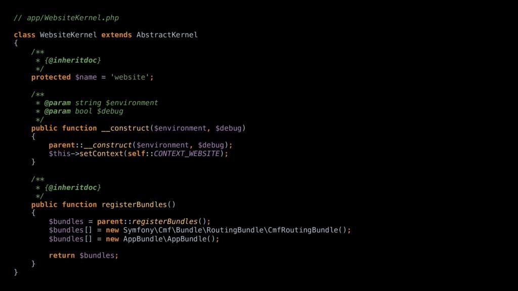 // app/WebsiteKernel.php  class WebsiteKernel...