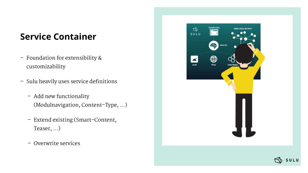 Service Container – Foundation for extensibilit...