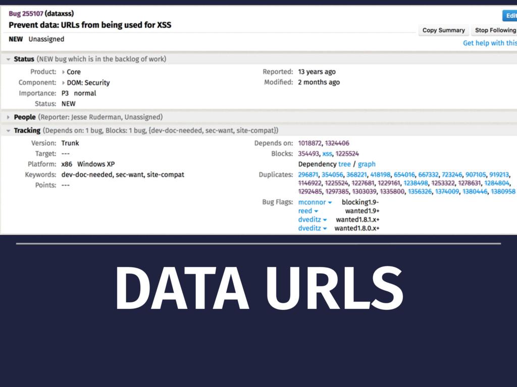 DATA URLS