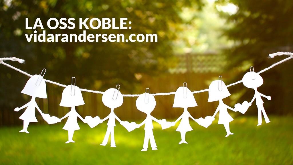 LA OSS KOBLE: vidarandersen.com