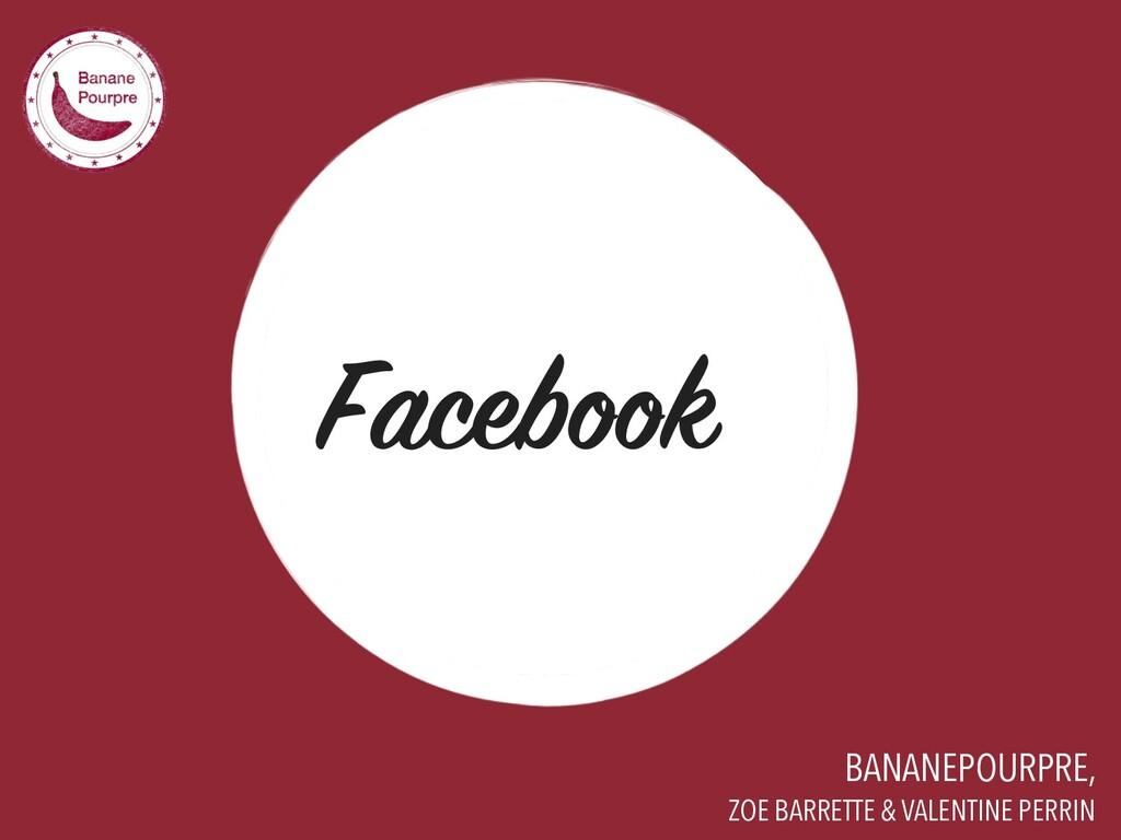 BANANEPOURPRE, Facebook ZOE BARRETTE & VALENTIN...